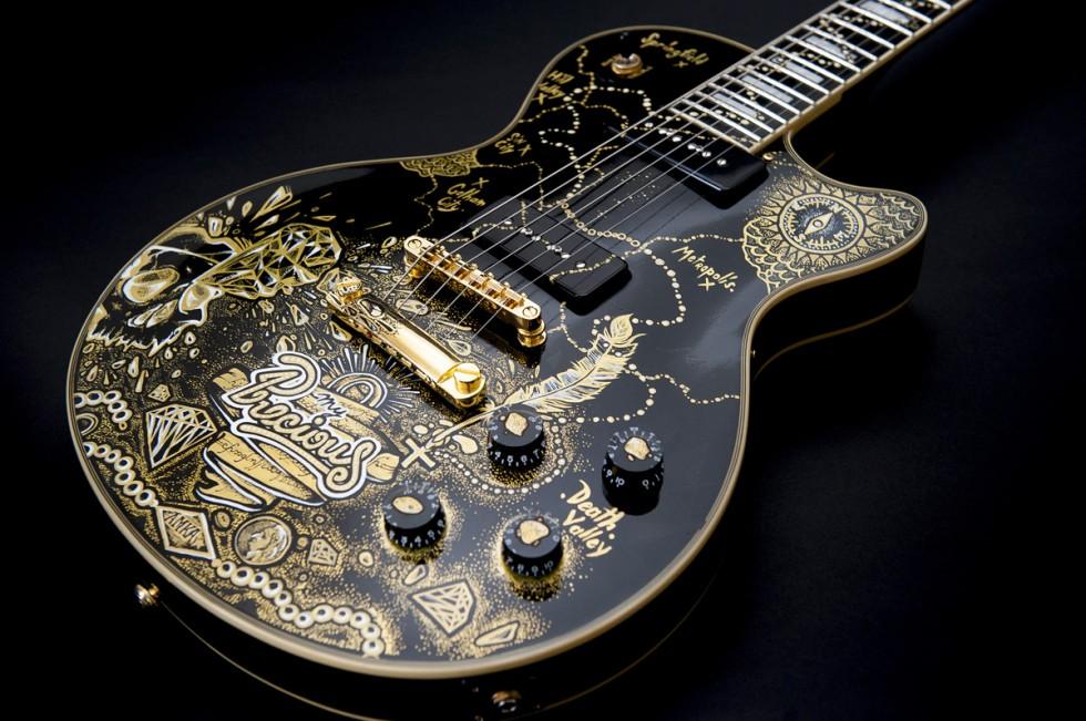 Guitare Custom 77 personnalisé par Maksim