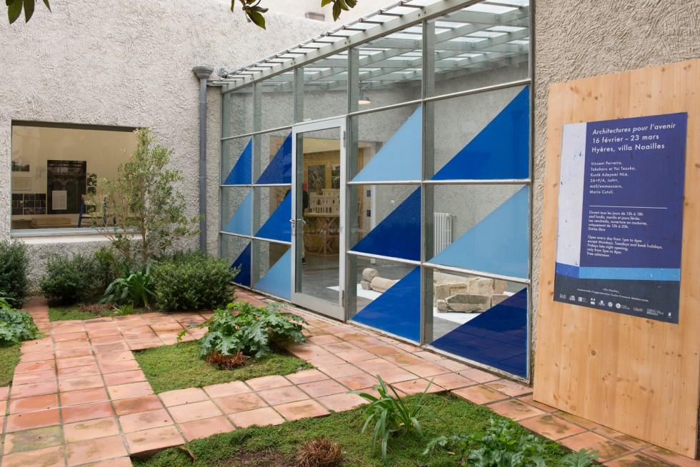 Exposition Architectures pour l'Avenir à la villa Noailles