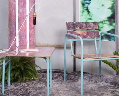 Photographie d'objet : Le mobilier en métal de l'atelier de Thomas Defour et Yahn Letinevez